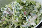 Рецепт теплого осеннего салата из голландского картофеля Ривьера