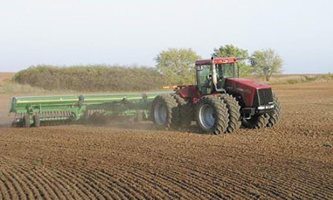 Подготовка полей для посева яровых