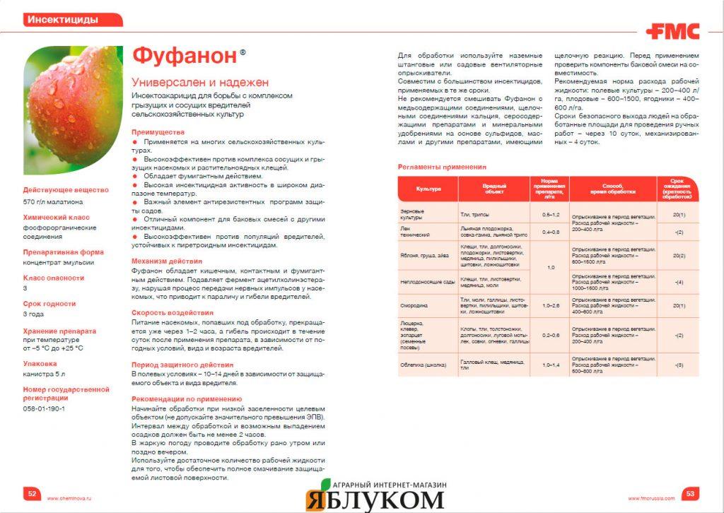 Инсектицид Фуфанон 570
