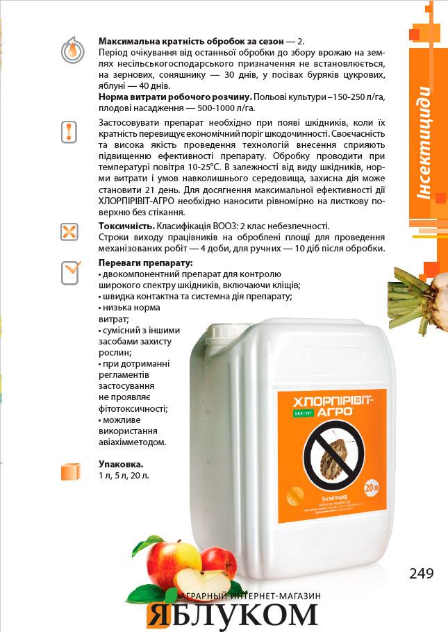Инсектицид Хлорпиривит-агро