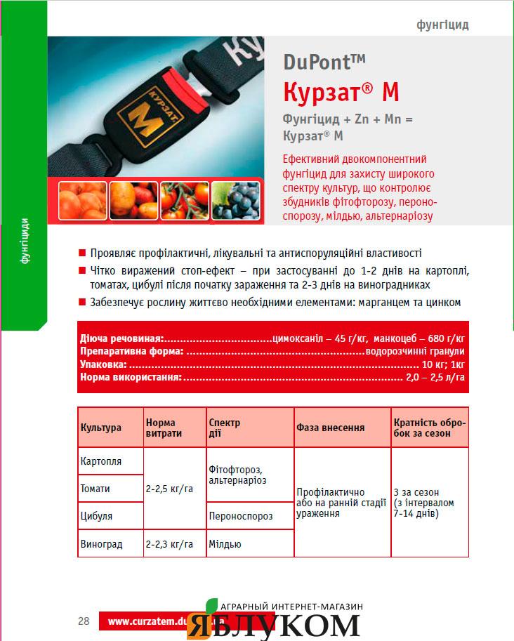 Фунгицид Курзат М 68, в.г.