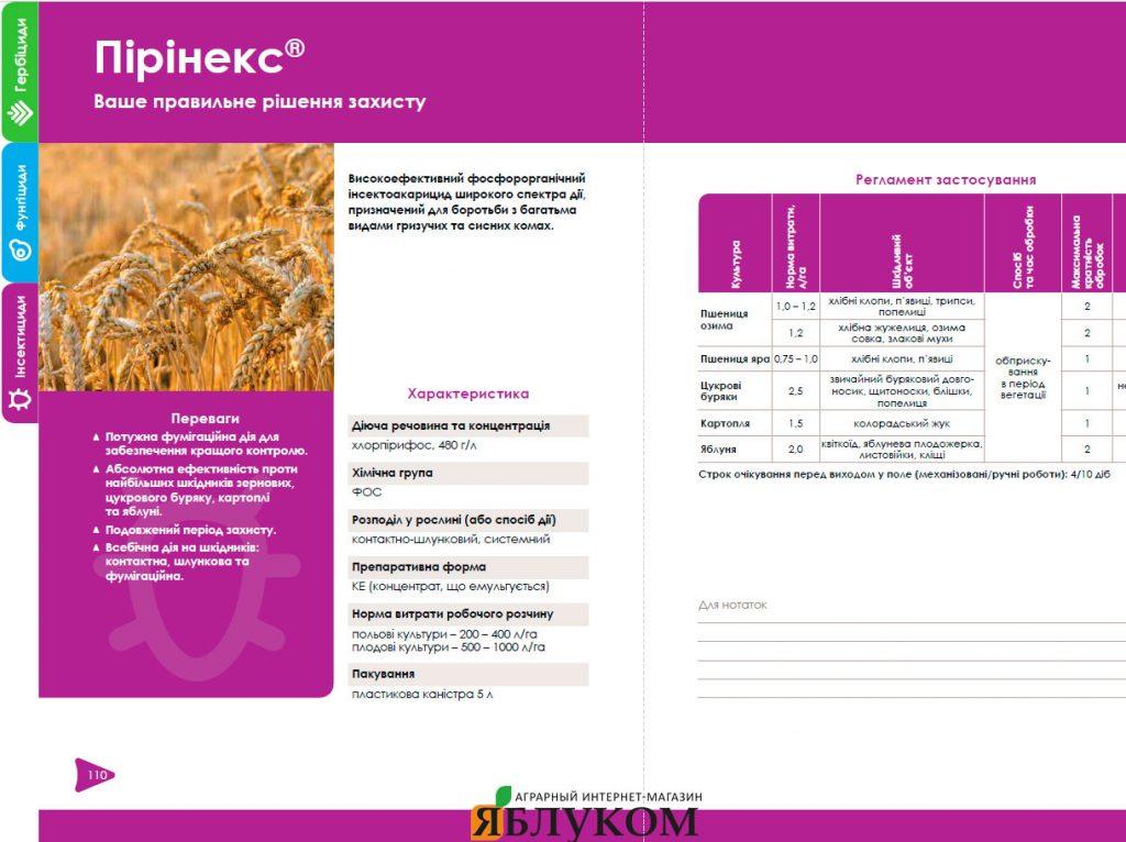Инсектицид Пиринекс