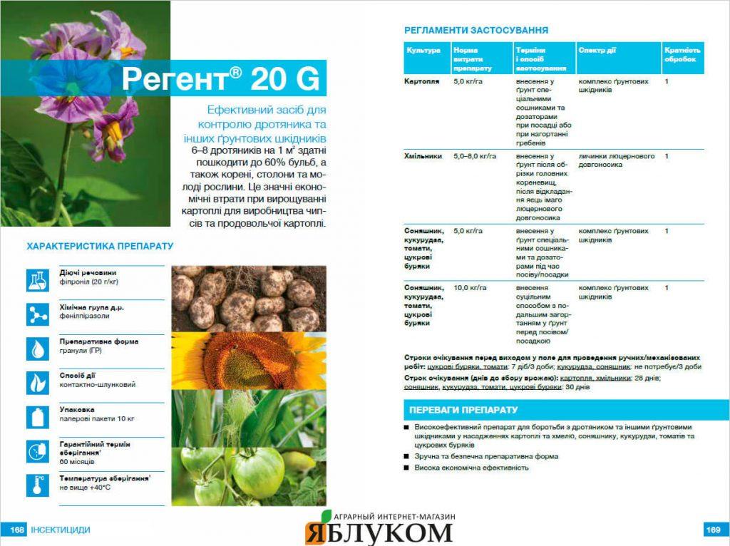 Инсектицид Регент 20 G