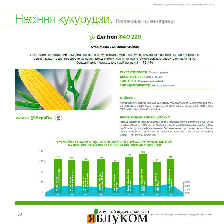 Семена кукурузы Делитоп