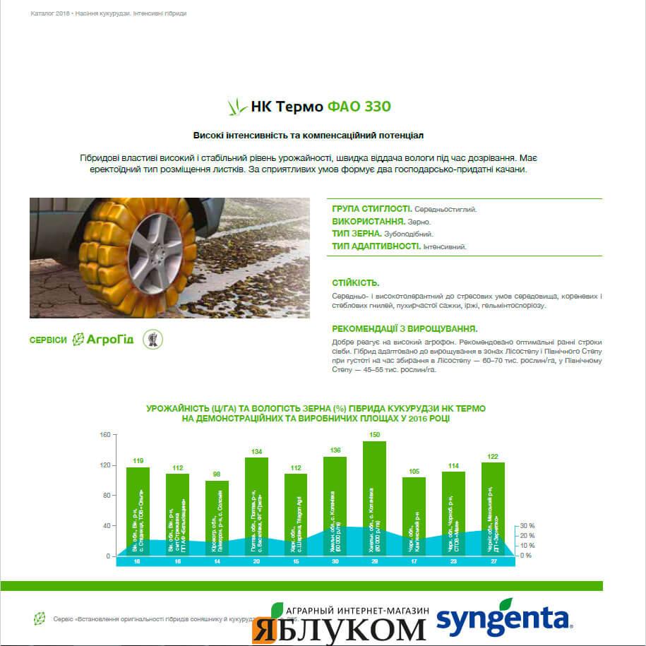 Семена кукурузы НК Термо