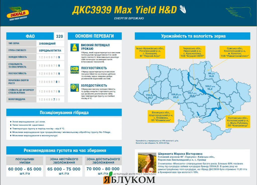 Семена кукурузы ДКС 3939