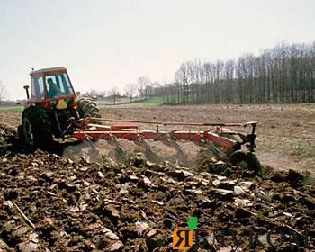 Обработка почвы под посев ярового ячменя