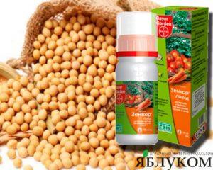 Преимущества почвенного гербицида Зенкор Ликвид