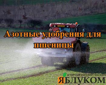 Азотные удобрения для пшеницы