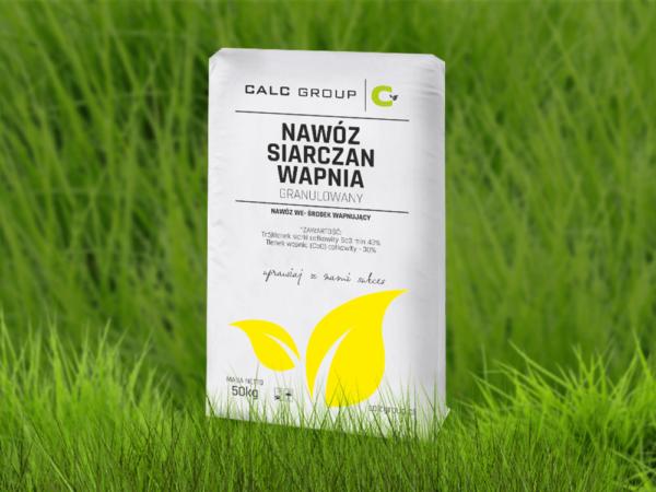 Гранулированное сульфатно-кальциевое удобрение(Розкислитель почвы)